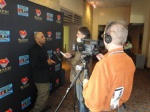 ken wyatt interviewed at BIFF.JPG
